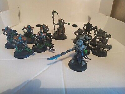 £4.80 • Buy Warhammer 40k Necron Immortals (Old Plastic Version) + Necron Overlord + Lord