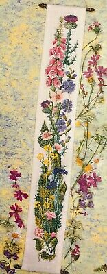 £27.99 • Buy Mary Hickmott - The Height Of Summer Bell Pull - Counted Cross Stitch Kit (Q663)