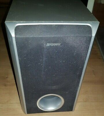 £6.90 • Buy Sony SS-WS31 Surround Sound Passive Subwoofer 120 Watts 2.7 Ohms