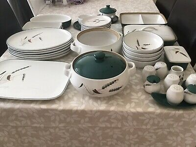£100 • Buy Denby Greenwheat   China From 1960's