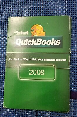 £53.09 • Buy Quickbooks 2008 PRO R5 Windows Full Retail Version Complete With Product Key