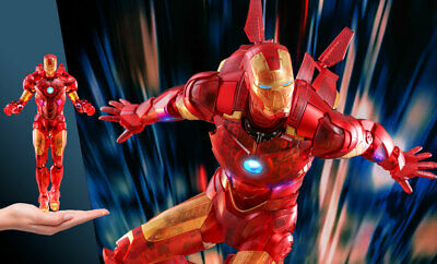 $ CDN400.79 • Buy Iron Man Mark IV (Holographic Version) MM 1/6 Scale Hot Toys Exclusive Figure