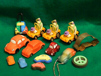 $ CDN24.25 • Buy Volkswagen VW Beetle Bug ~ Mixed Lot Of Collectible Toys W/Beetle Cookie Cutter