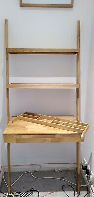 £31 • Buy Ladder Desk (oak) From Futon Company Used For 6 Months Very Good Condition
