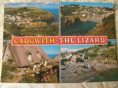 £2.25 • Buy Postcard, Cadgwith - The Lizard, Cornwall, 1990, Salmon, Posted