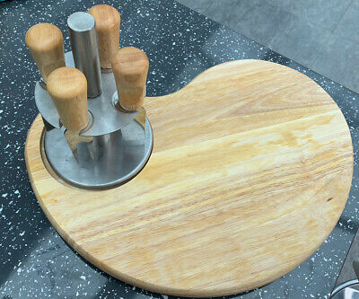 £3.50 • Buy Cheese Board And Knife Set