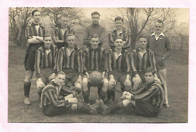 £1 • Buy Margate College Football Team 1934 Real Photo Postcard