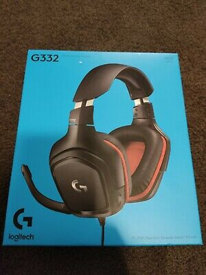 AU59.90 • Buy Logitech G332 Stereo Wired Gaming Headset Headphones PC PS4 Xbox Nintendo 3.5mm