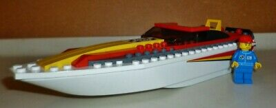 £4 • Buy LEGO City Harbour Power Boat 4643. Pre-loved, 1 Brick Missing