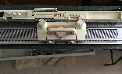 £100 • Buy Empisal-Knitmaster Model 326 With Table And Accessories And Instructions