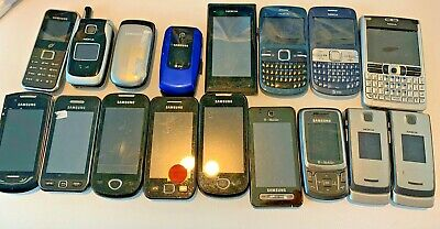 $ CDN92.12 • Buy HUGE LOT Of Nokia And Samsung S5620,S5230, I5800 Cellphones Untested Condition