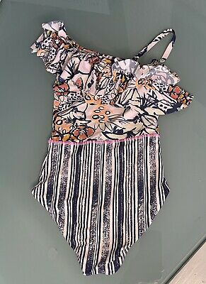 $25 • Buy Maaji One Piece Swimsuit Reversible Size 8 Excellent Condition