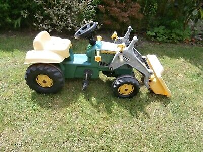 £40 • Buy Rolly Toys John Deere Ride On Pedal Tractor + Front Loader 2.5 - 5 Years