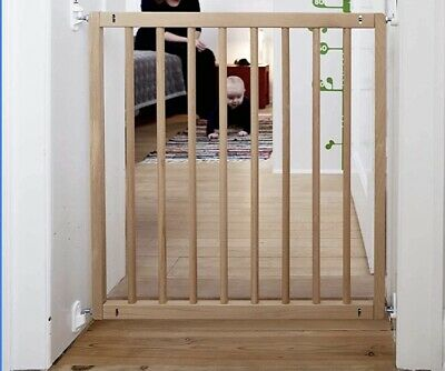 £9.90 • Buy BabyDan No Trip Wood Safety Gate 72-78.5cm-  Beech Wood - NEW/BOXED