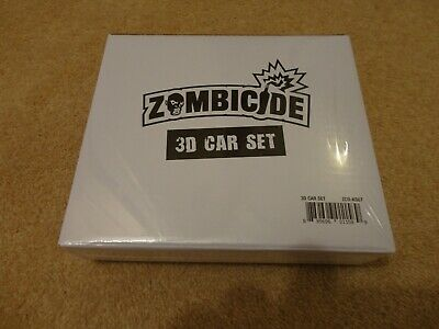 AU42.43 • Buy Zombicide 2nd Edition Board Game: 3D Car Set. Kickstarter Exclusive New & Sealed