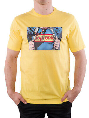 $ CDN21.49 • Buy Supreme Men's T-Shirt Size L W Superman Made In Italy