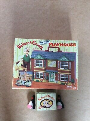 £9.99 • Buy Wallace And Gromit Vivid Imaginations A Close Shave Figures & Play House & Box