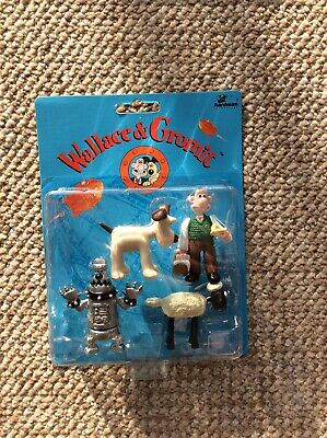 £3.99 • Buy Wallace And Gromit Vivid Imaginations A Close Shave Figures 1989  BNIP