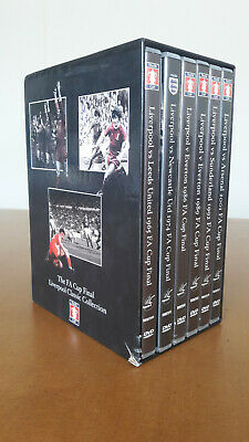 £29.99 • Buy Liverpool FC Classic Collection The FA Cup Final DVD 6 Disc Box Set