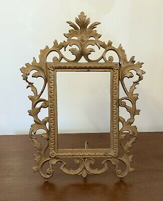 """£38 • Buy Rococo Picture Frame Gold Beautiful Antique 6"""" X 4"""" Picture"""