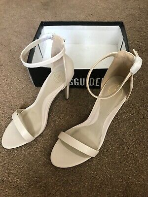 £14 • Buy Missguided Flat Two Strap Barely Shoe Size 8 New