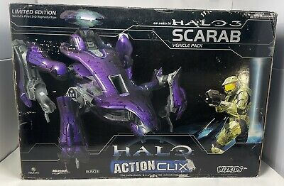 £483.58 • Buy Halo 3 Scarab Vehicle Pack ActionClix SDCC Limited Edition - WizKids 2007 FS