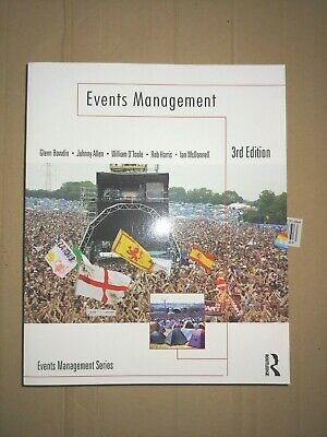 £14.50 • Buy EVENTS MANAGEMENT 3rd ED BY W O'TOOLE, J ALLEN, G BOWDIN, R HARRIS, I McDONNELL.