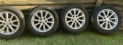 AU400 • Buy Mitsubishi Lancer Factory Alloy Wheels And Tyres 205 X 16 Immaculate Condition