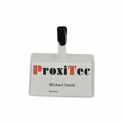 £13.39 • Buy 8009213 Visitor Name Badge 60X90MM (Pack-25)
