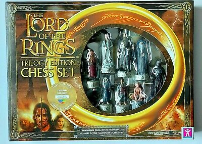 £84.99 • Buy The Lord Of The Rings Trilogy Edition Chess Set Limited Edition #5435 (2004) New