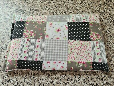 £2.60 • Buy Microwave Wheat Bag/chill Pack - Patchwork Grey, Black, Pink - 6  X 10  Approx