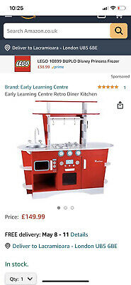 £50 • Buy Early Learning Centre Retro Diner Kitchen With Lots Of Accessories