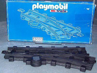 £19.99 • Buy Playmobil RC Train Track Theme 4389 Right Hand Switch Track + Box