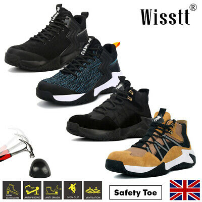 £29.99 • Buy Women's Steel Toe Cap Work Boots Ankle Non-Slip Lace Up Safety Trainers Shoes S3