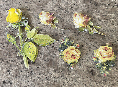 £1.20 • Buy Card Decoupage Toppers Flowers 5