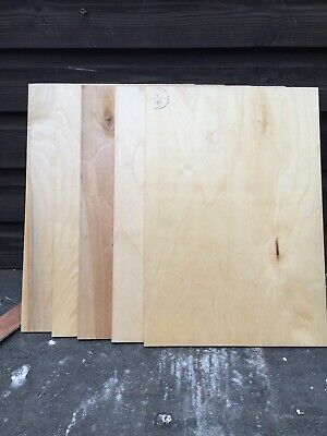 £4.99 • Buy 5 Pieces Of  6mm Thick Sheets Berch PlyWood 440mm(17/)x300mm(11.3/4 New