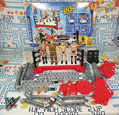 £24.99 • Buy WWE Mattel Wrestling Create A Superstar Ring With 4x Figures AND BOX Bundle