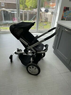 £15 • Buy Pre-loved Quinny Buzz Travel System - Black (no Car Seat, Fits Maxi-cosi)