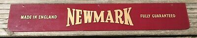 £120 • Buy Vintage Original 1950's  Newmark  Watch Display Case Sign -  Made In England