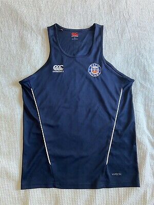 £20 • Buy Bath Rugby Training Singlet Vest L Large Player Issue