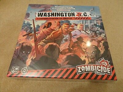 £30 • Buy Zombicide 2nd Edition Board Game - Washington Z.C. Expansion. New & Sealed.