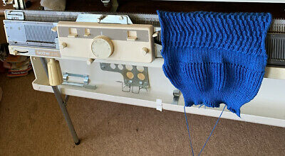 £95 • Buy Brother Knitting Machine Ribber Spares KR830 Bed KR850 Carriage Tested Working