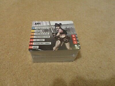 £30 • Buy Zombicide 2nd Edition Board Game - 124 Upgraded ID Cards For 1st Ed. Survivors