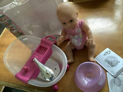£7 • Buy Baby Born Doll With Lights And Sounds Bath + Potty