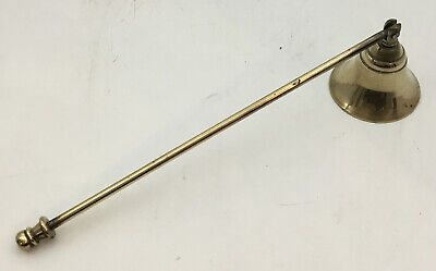 £5.99 • Buy Vintage Large Brass Candle Snuffer