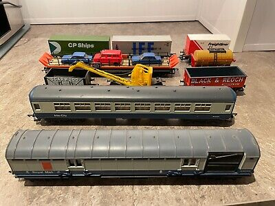 £1.29 • Buy Bundle Of Hornby Carriages Intercity Royal Mail Wagon Transporter Crane Coal Oil