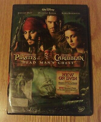 AU4.45 • Buy Unopened Pirates Of The Caribbean DVD-Johnny Depp