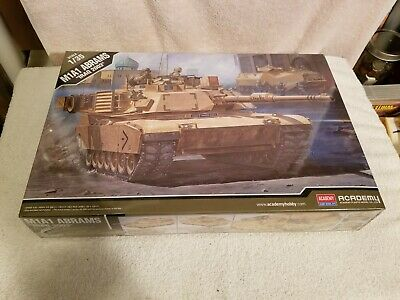 $15.50 • Buy Academy M1a1 Abrams  Iraq 2003  Model Kit 1/35 Scale Factory Sealed