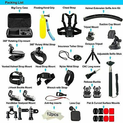 $ CDN48.90 • Buy 50pcs Go Pro Action Sports Camera Accessories Kit Set For GoPro Hero 9 8 7 5 6 4