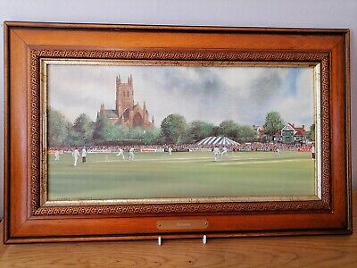 £19.99 • Buy The County Ground, Worcester By Terry Harrison Framed Print